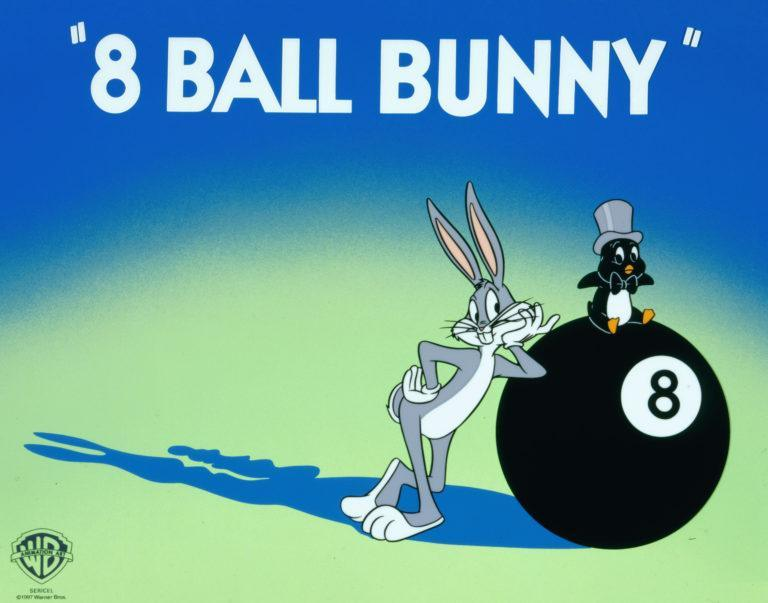 EIGHT BALL BUNNY Limited Edition Cel LOONEY TUNES FINE ART