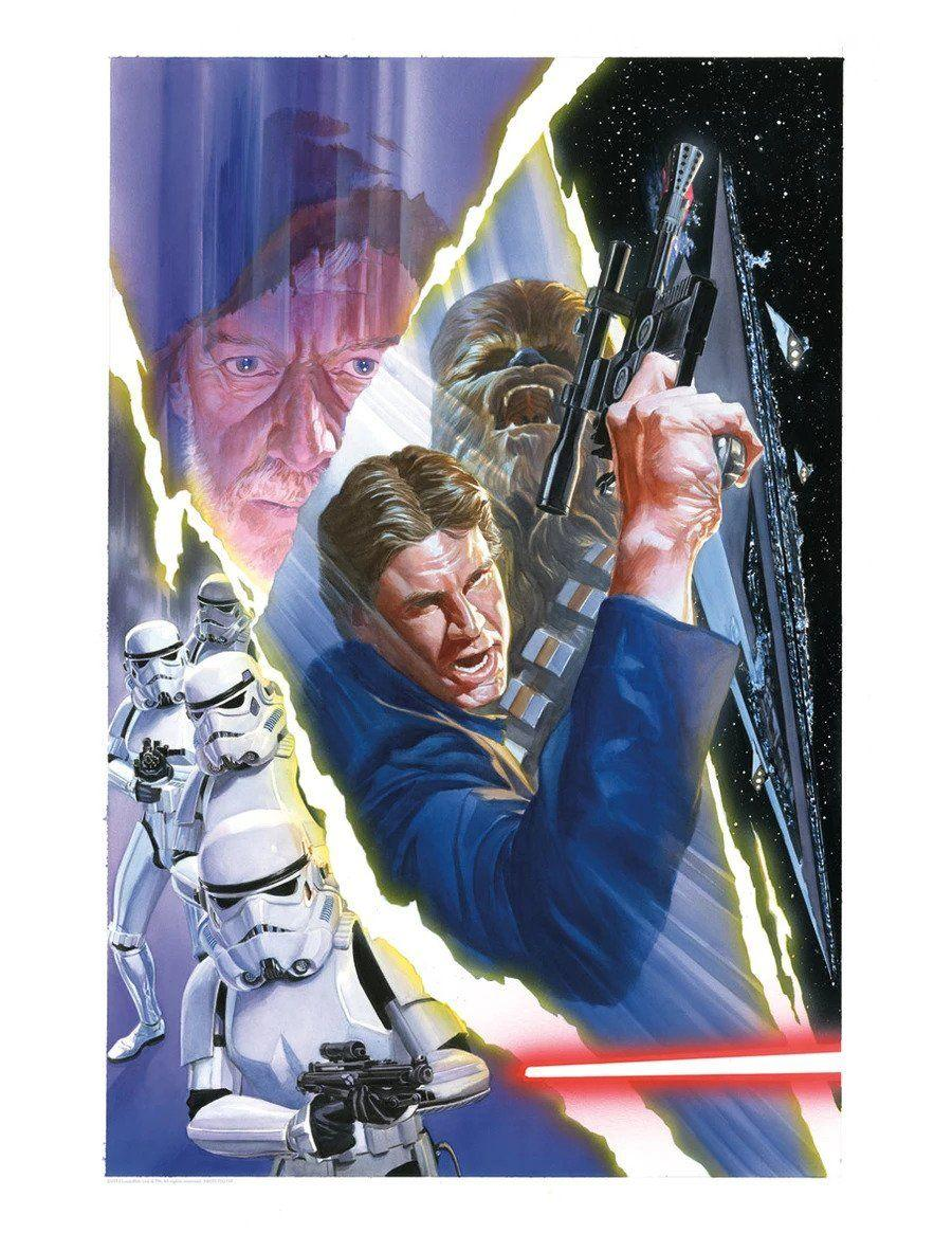 STAR WARS #3 Giclée on Paper STAR WARS FINE ART