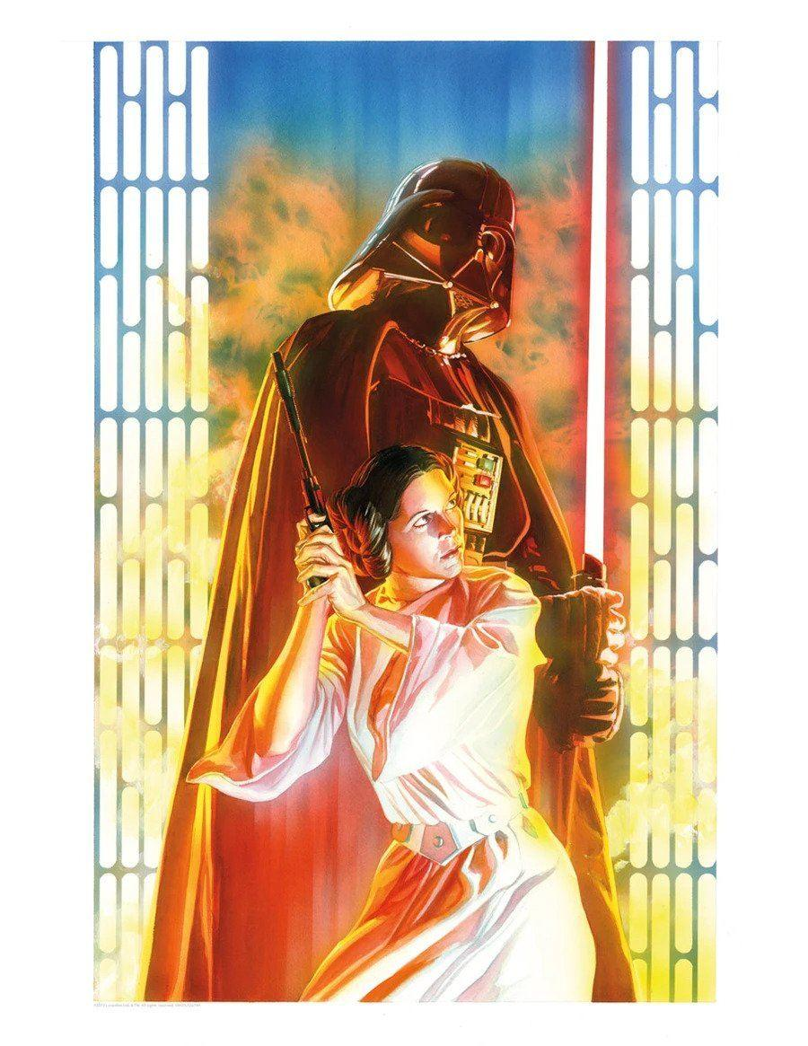 STAR WARS #4 Giclée on Paper STAR WARS FINE ART