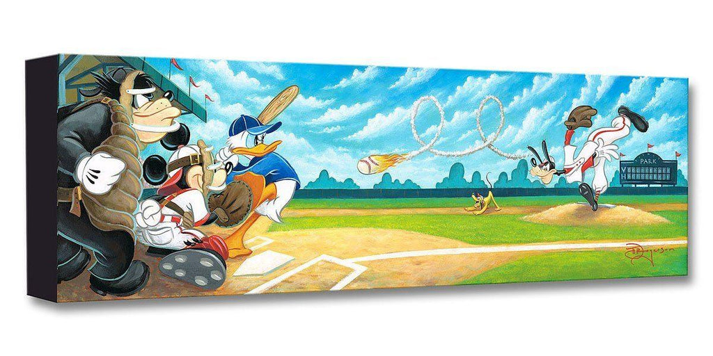 DISNEY TREASURES: SWING FOR THE FENCES Disney Treasure DISNEY FINE ART