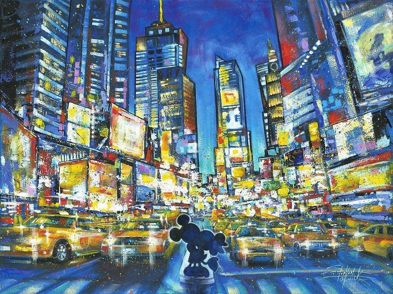 DISNEY LIMITED EDITION: YOU ME AND THE CITY Giclée On Canvas DISNEY FINE ART