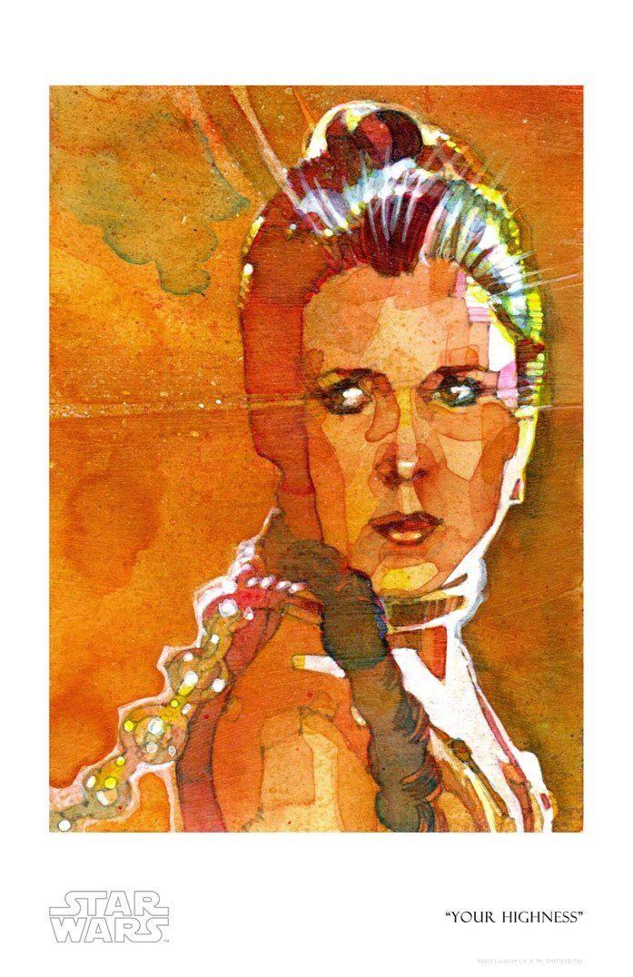 YOUR HIGHNESS Giclée On Paper/Canvas STAR WARS FINE ART