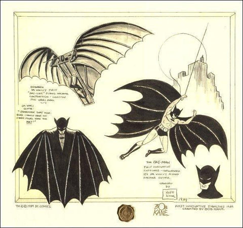 Batman Da Vinci