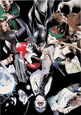 JOKERS RECKONING Giclée On Canvas DC COMICS FINE ART