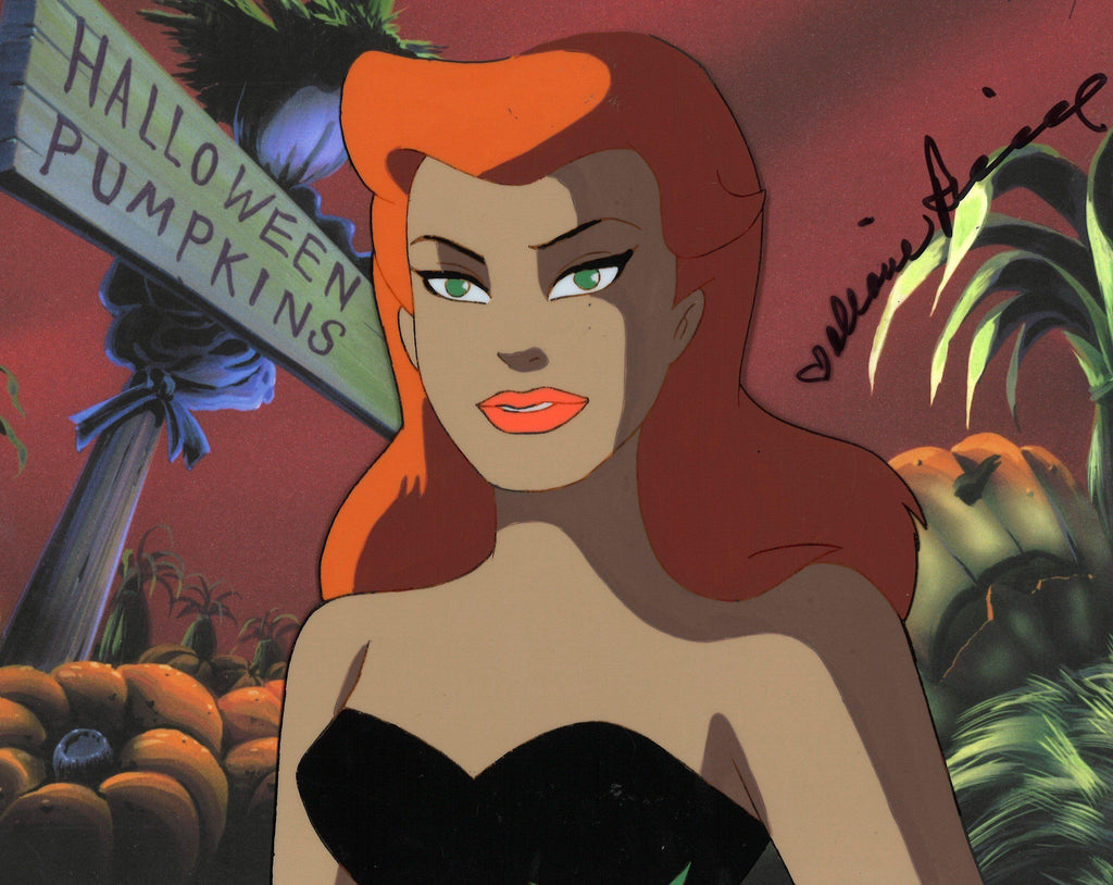 BATMAN THE ANIMATED SERIES ORIGINAL PRODUCTION CEL: POISON IVY Original Production Cel DC Comics Studio Artist