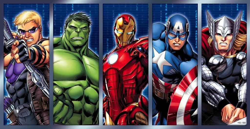 CHAMPIONS Giclée on Paper MARVEL FINE ART