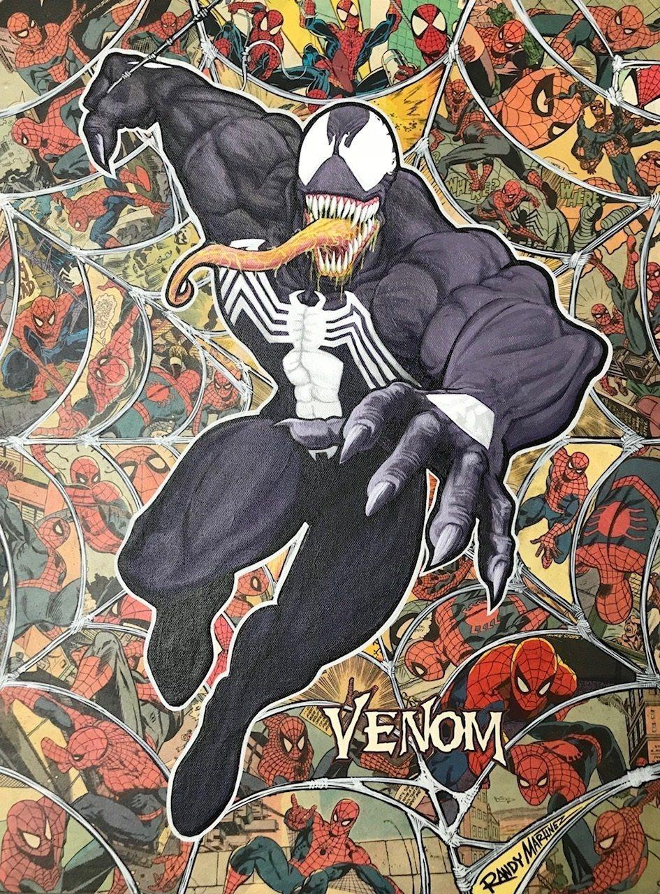 LEGACY: VENOM Giclée On Canvas MARVEL FINE ART
