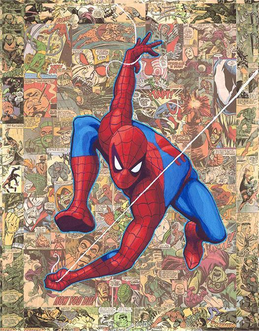 LEGACY: SPIDER-MAN Giclée On Canvas MARVEL FINE ART