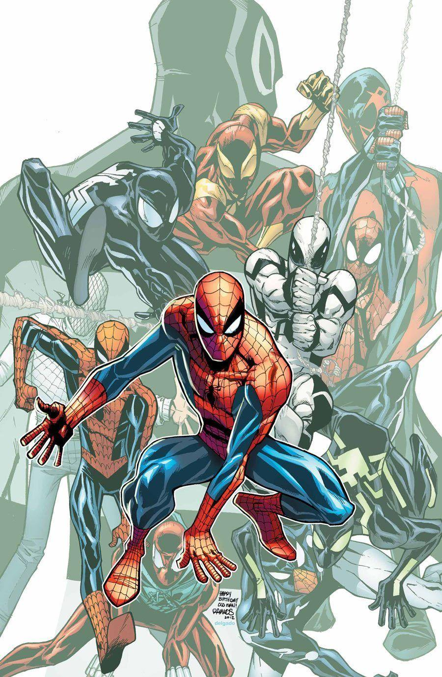 SPIDER-MAN 692 Giclée On Canvas MARVEL FINE ART