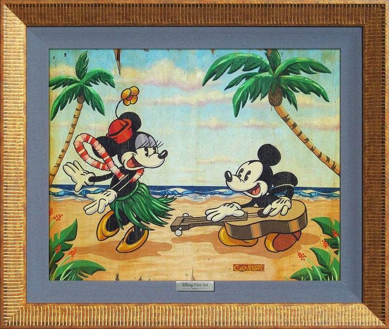 DISNEY SILVER SERIES: WELCOME TO THE ISLANDS Silver Series DISNEY FINE ART