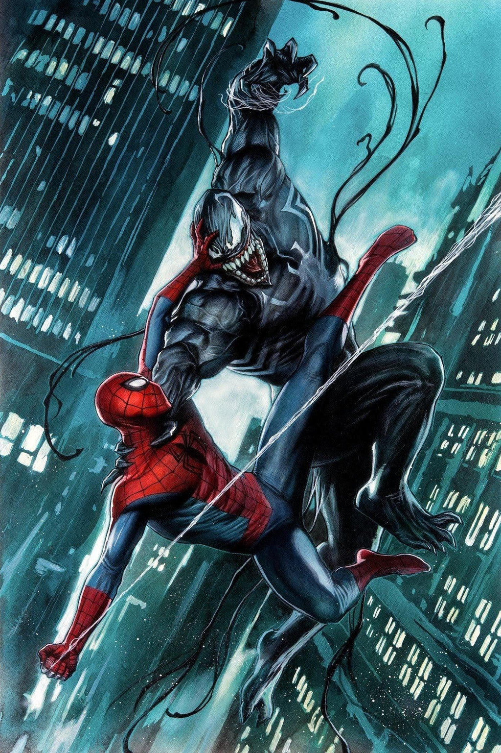 SYMBIOTE BY ADI GRANOV Giclée On Canvas MARVEL FINE ART