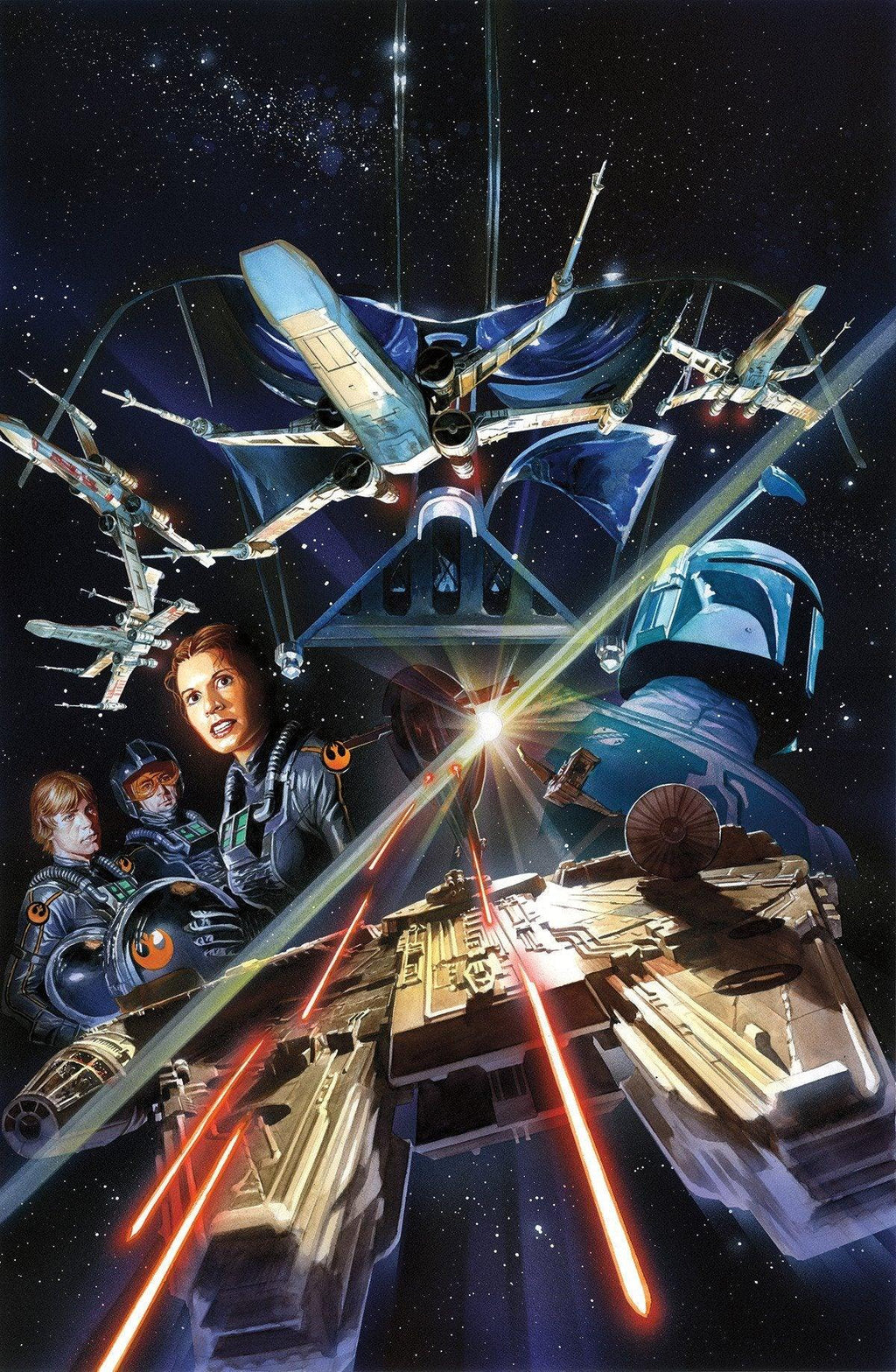 STAR WARS #2 Giclée on Paper Alex Ross