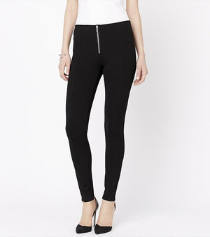 Basic Legging with Zippers JET BLACK