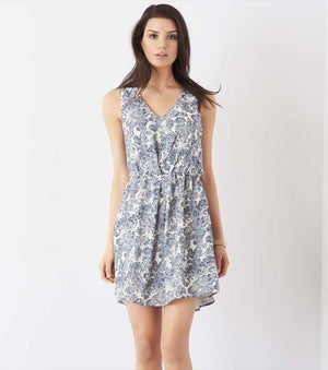 Fit And Flare Dress With Back Detail PAISLEY PRINT