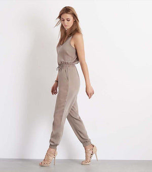 Jumpsuit With Back Zip SEAL SKIN