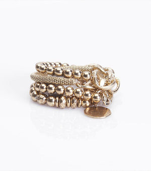 Chain Bracelet Set GOLD