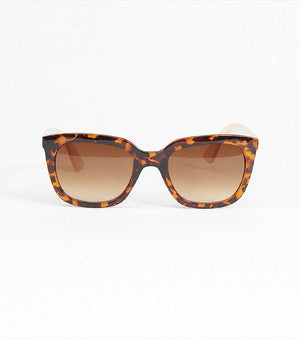 Two-Tone Sunglasses TORTOISE/BEIGE