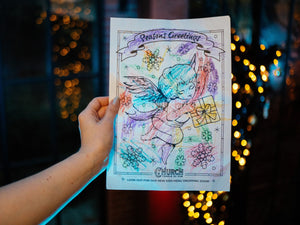 WINNER - CHRISTMAS COLOURING COMPETITION