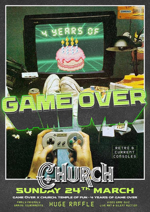 GAME OVER'S 4th BIRTHDAY