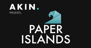 AKIN. PRESENTS.... PAPER ISLANDS - LIVE STREET ART AUCTION