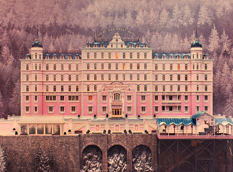 MOVIE CLUB - THE GRAND BUDAPEST HOTEL