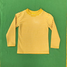Load image into Gallery viewer, Pine Needle Green Stripe Organic Cotton T shirt