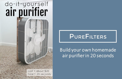 How To Build A DIY Air Purifier In Less Than 20 Seconds