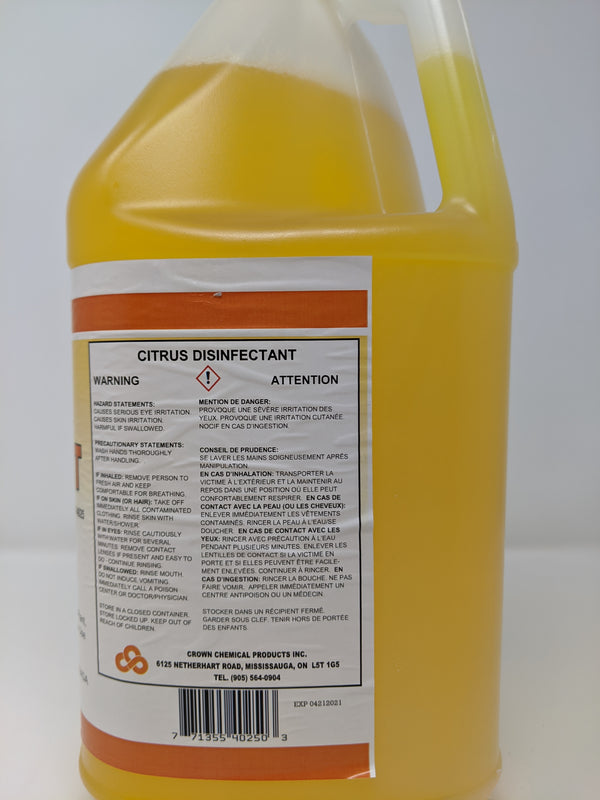 Crown Chemical Citrus Disinfectant - PureFilters.ca