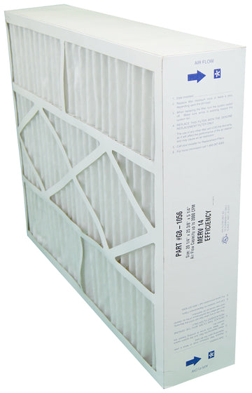 Electro Air Five Seasons G8-1056 - 20x25x6 MERV 14 Furnace Filter