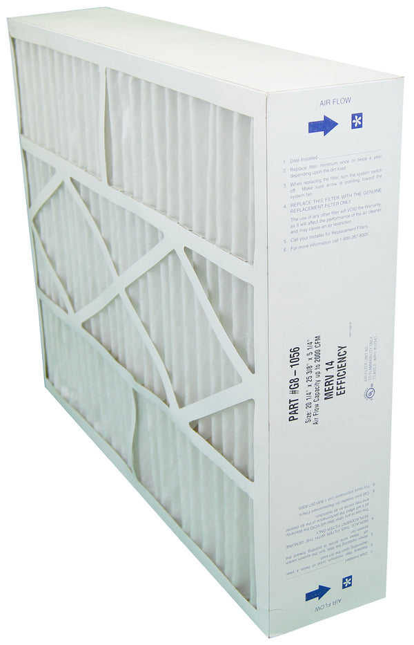 Electro Air Five Seasons G8-1056 - 20x25x6 MERV 14 Furnace Filter - PureFilters.ca