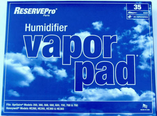 Generalaire / Reservepro GA35 Humidifier Filter Pad - PureFilters.ca