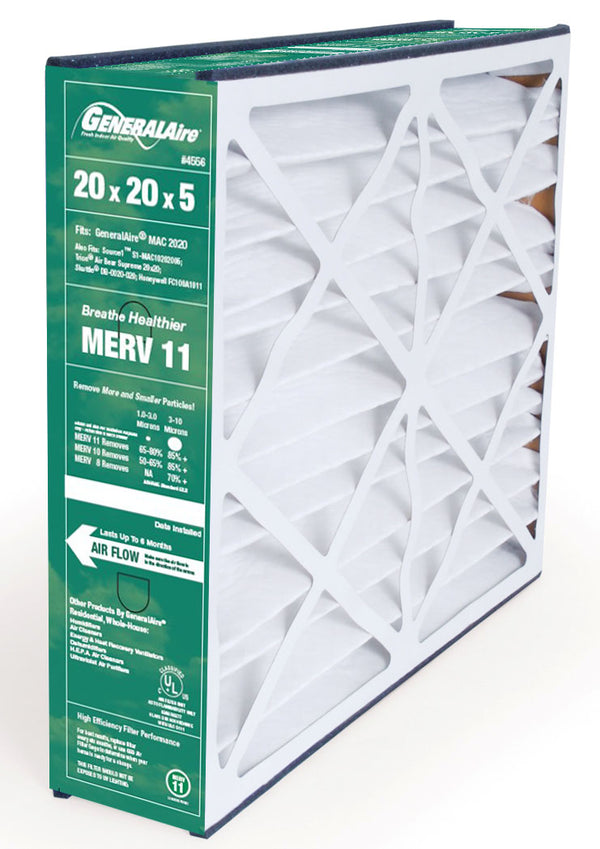 Generalaire / Reservepro 4556 MERV 11 Furnace Filter 20x20x5 - PureFilters.ca