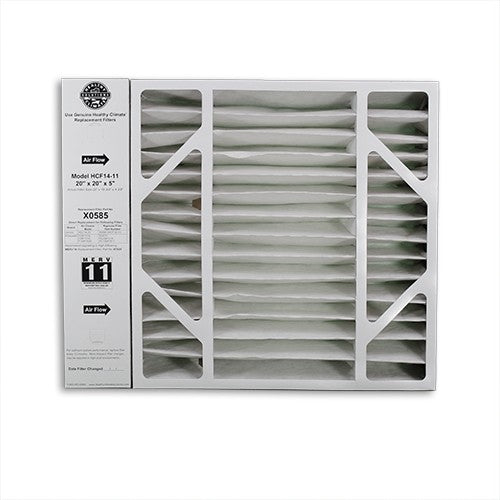 Lennox X0585 - Healthy Climate Cabinet Furnace Filter 20x20x5 MERV 11 (OEM) - PureFilters.ca