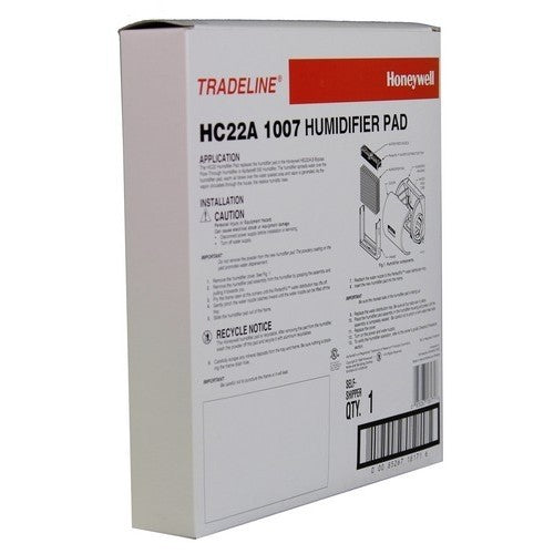 Honeywell HC22A1007 - Humidifier Water Panel Humidifier Pad - PureFilters.ca