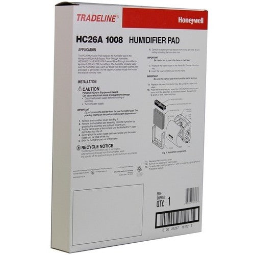 Honeywell HC26A1008 - Humidifier Water Panel Humidifier Pad - PureFilters.ca