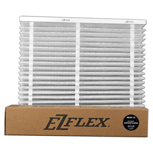 Carrier / Bryant EXPXXFIL0024 - EZ Flex 24x25x5 MERV 10 Air Filter - PureFilters.ca