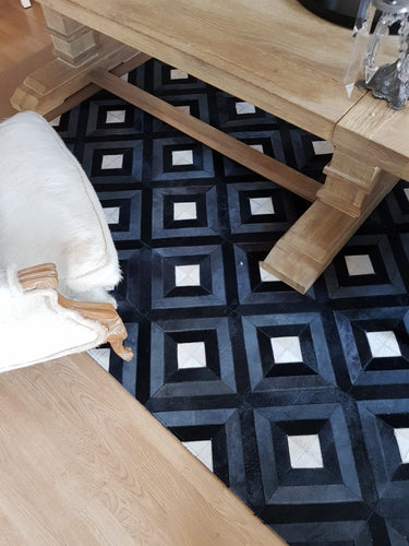 Miami Design | Leather Cowhide Rug | 1.80 x 2.40 Mt.