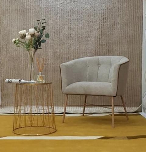Chair / Sofa on Beige Linen