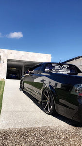 Holden Commodore VE Side Skirt Extensions