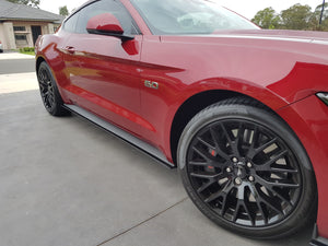 Ford Mustang Side Skirt Extensions