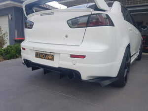 Mitsubishi CJ Ralliart Rear Diffuser