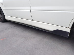 Mitsubishi Evo 8 Side Skirt Extensions