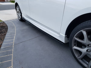 Mazda 3 BL Side Skirt Extensions