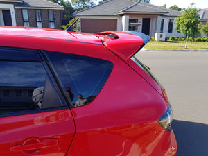 Mazda 3 BK MPS Rear Wing Extension
