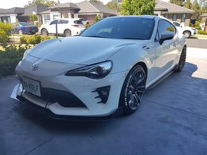 Toyota GT86 Side Skirt Extensions