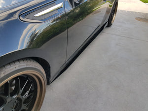Subaru BRZ Side Skirt Extensions
