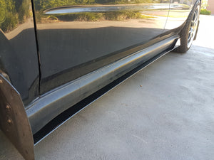Subaru 'Blobeye' Side Skirt Extensions