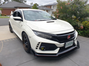 Honda Civic Type R Side Skirt Extensions