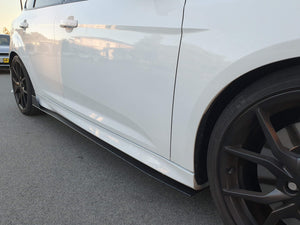 Ford Focus RS Side Skirt Extensions