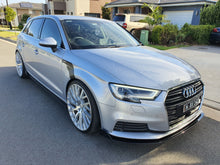 Load image into Gallery viewer, Audi A3 Side Skirt Extensions
